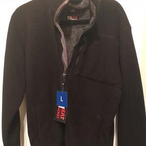 Men's Fleece Jacket- 32 Degrees Heat NWT